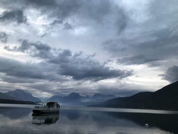 Boat House on Lake McDonald