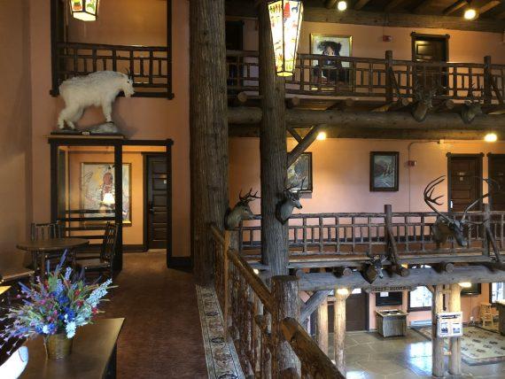 Lake McDonald Lodge Lobby