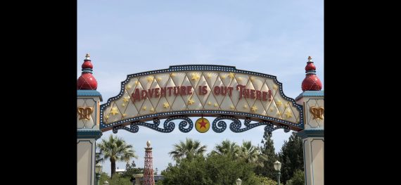 Disney Pixar slogan from UP