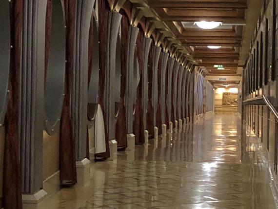 Disney Cruise lines hallway
