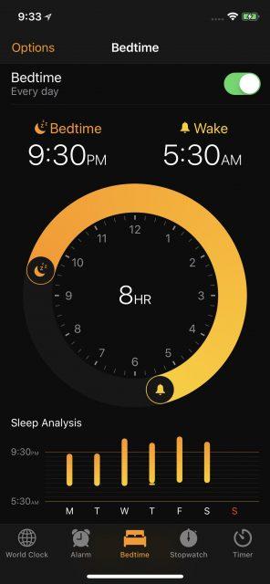 Apple alarm clock