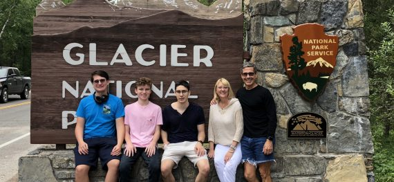 Family trip to Glacier