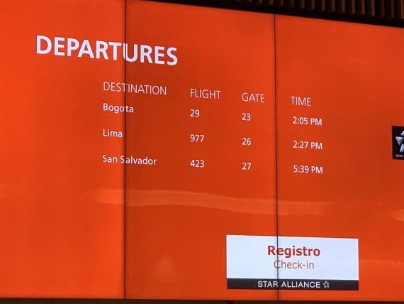 Avianca Orlando to South America