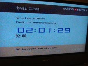 Finland Hotel TV