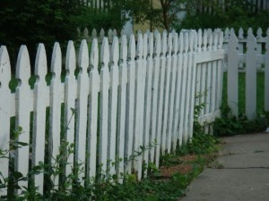 What Does A White Picket Fence Remind You Of?