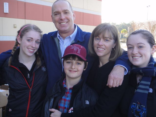 Bob Stratton & His Family - Dec. 25, 2010