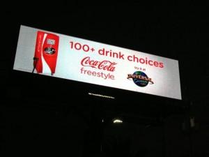 Central Florida billboard message