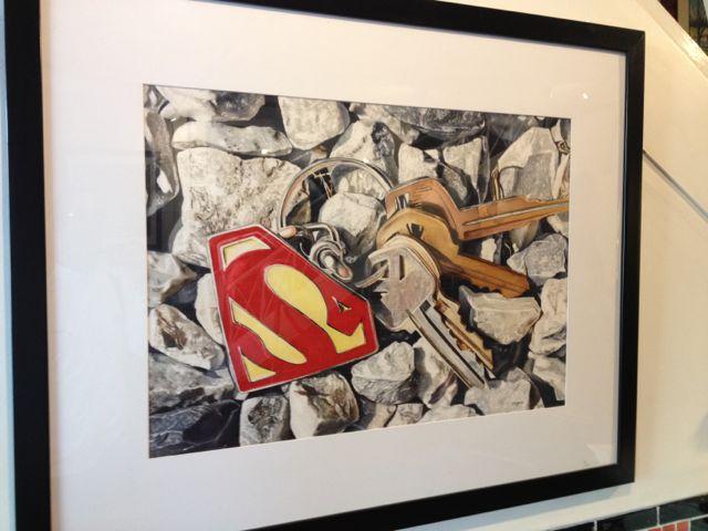 photo of hand-painted art