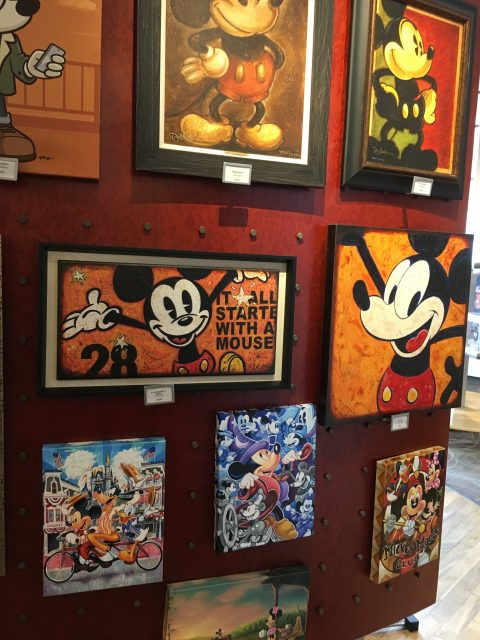 Art of Disney store