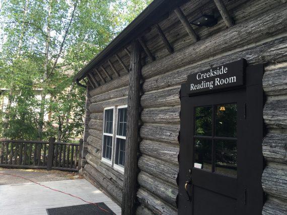 Lake McDonald reading room