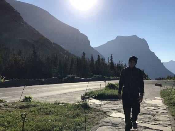 Logan Pass at sunrise