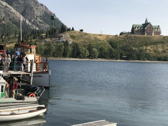 Waterton Boat ride