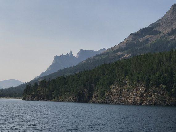 Waterton Lakes boat tour