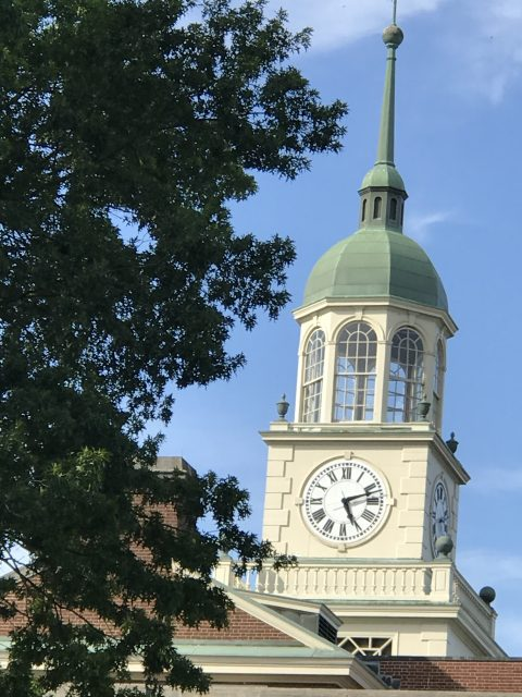 Bucknell University clock tower