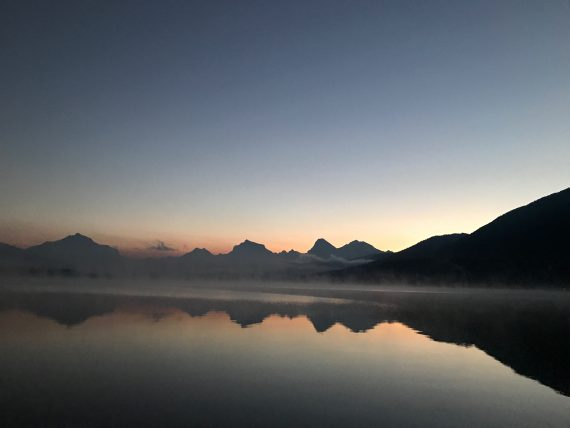 Lake McDonald at Dawn