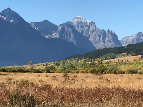 Glacier National Park in September