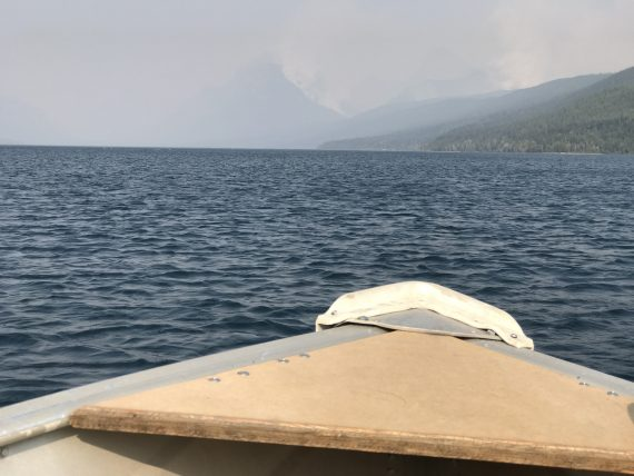 Lake McDonald Lodge Fire 2017