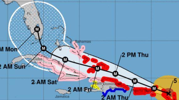 NOAA tracking Irma