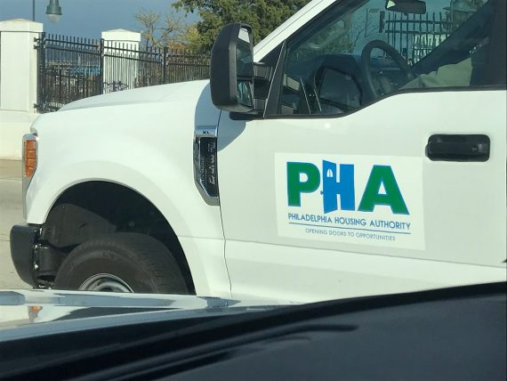 Philadelphia Housing Authority truck