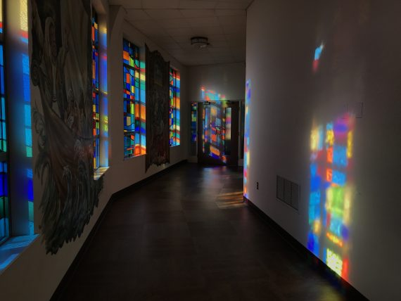 Colorful Church windows