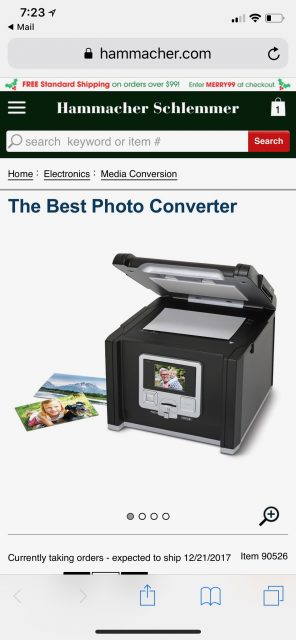 Slide to digital converter