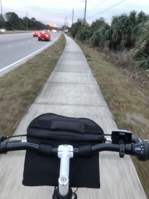 sidewalk biking near Walt Disney World