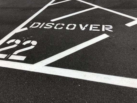 Epcot parking lot marker