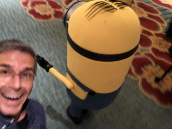 Minion and Disney Speaker