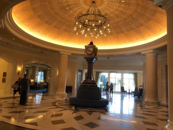 Disney Waldorf Astoria Resort Lobby