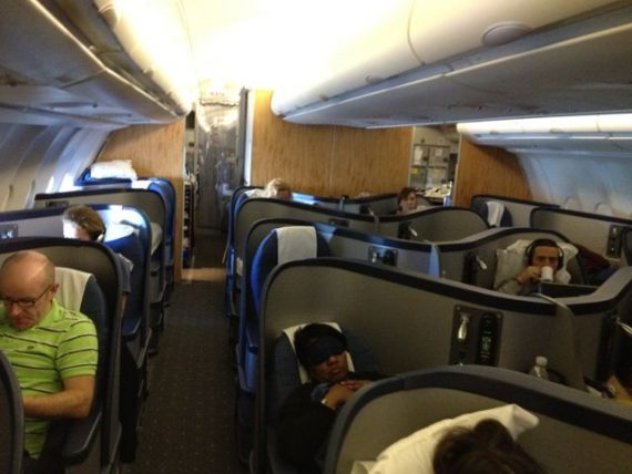 First class section