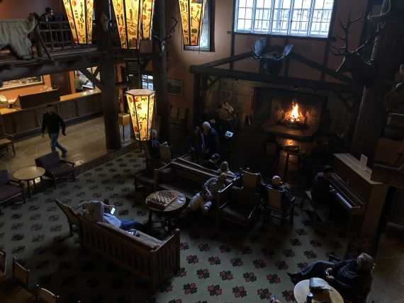 Lake McDonald Lodge Lobby