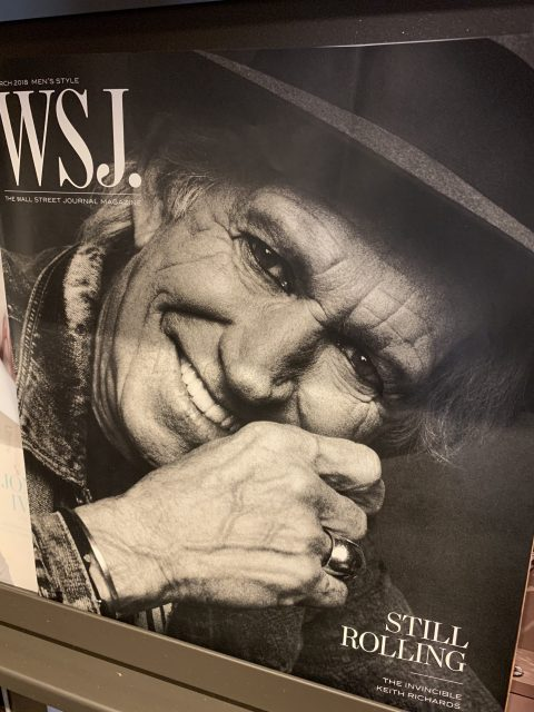 Keith Richards Rolling Stone cover