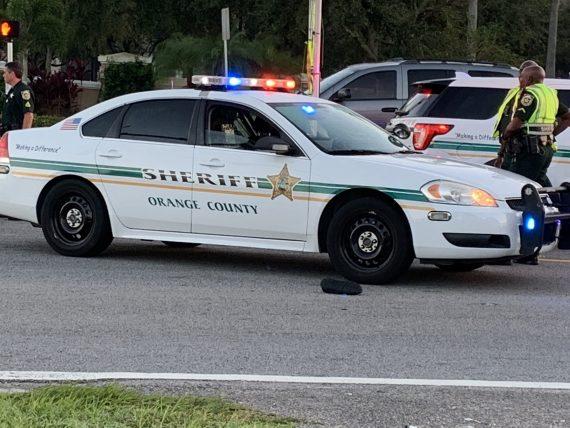 pedestrian struck by car near Disney