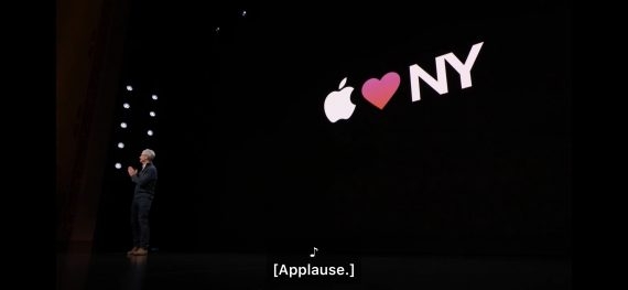 Apple live event 2018