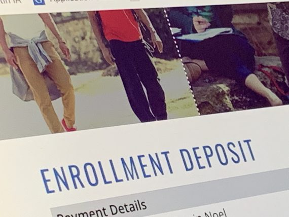college application fee