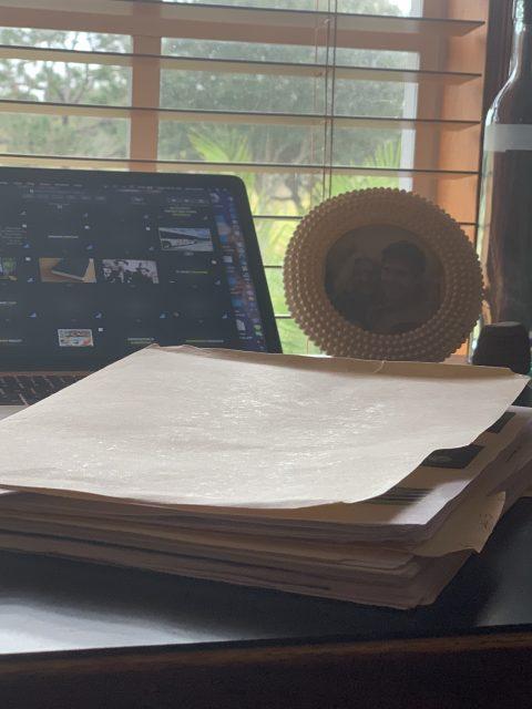 jeff noel's work desk