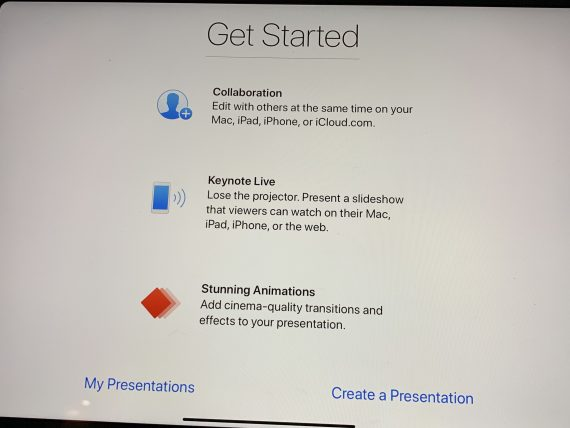 Apple Keynote getting started tips
