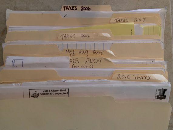 homeowner filing system