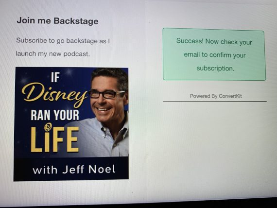 Disney Podcast with jeff noel
