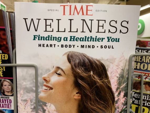 wellness cover article on Time Magazine