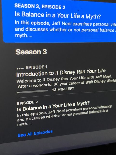 If Disney Ran Your Life podcast