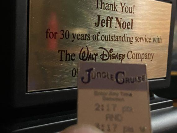 Disney service trophy