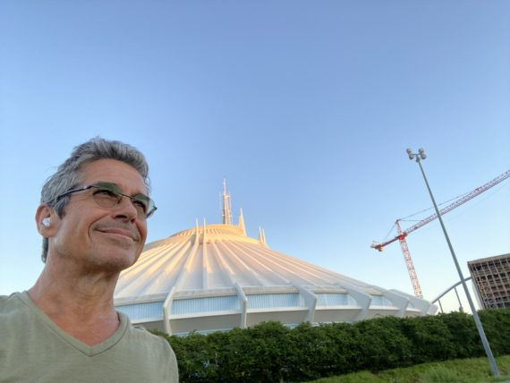 Jeff noel by Disney's Space Mountain