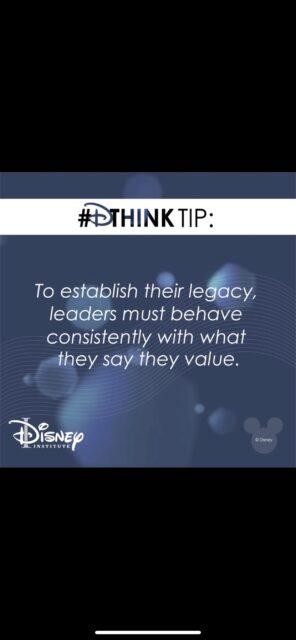 Disney institute leadership insight