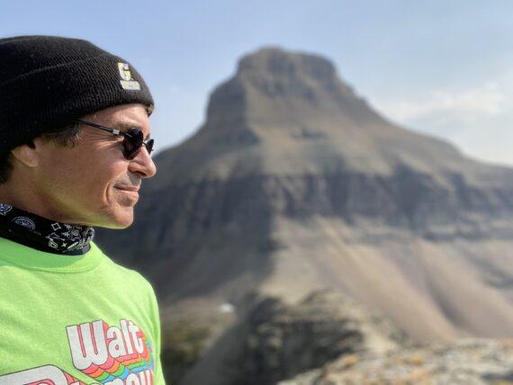 Jeff Noel disney speaker with mountain in background