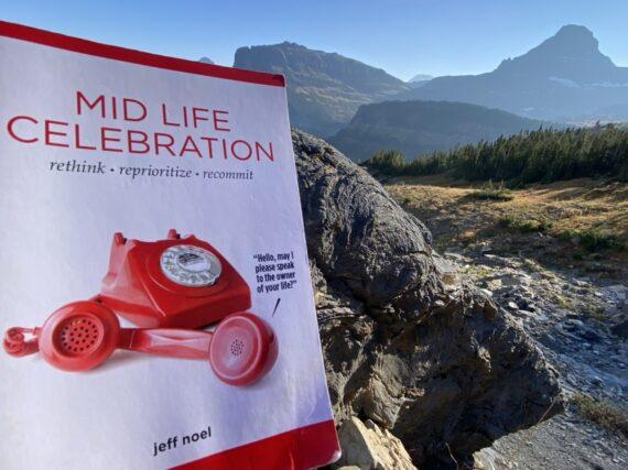 book Mid Life Celebration in mountain scene