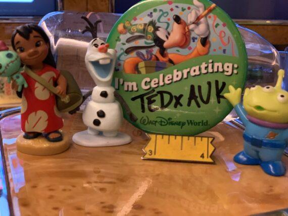 disney toys and Disney button