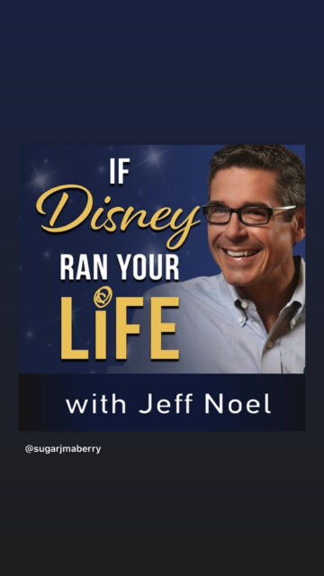 If Disney ran your life podcast cover art