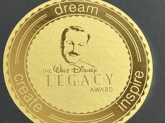 Disney Legacy Award logo