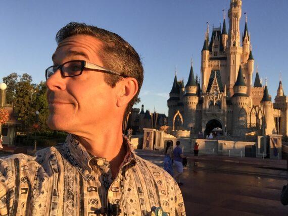 Disney Institute Keynote Speaker Jeff Noel at Cinderella Castle